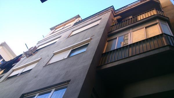 FONT D´EN CANYELLES 46, BARCELONA-FACHADA POSTERIOR (BEFORE)